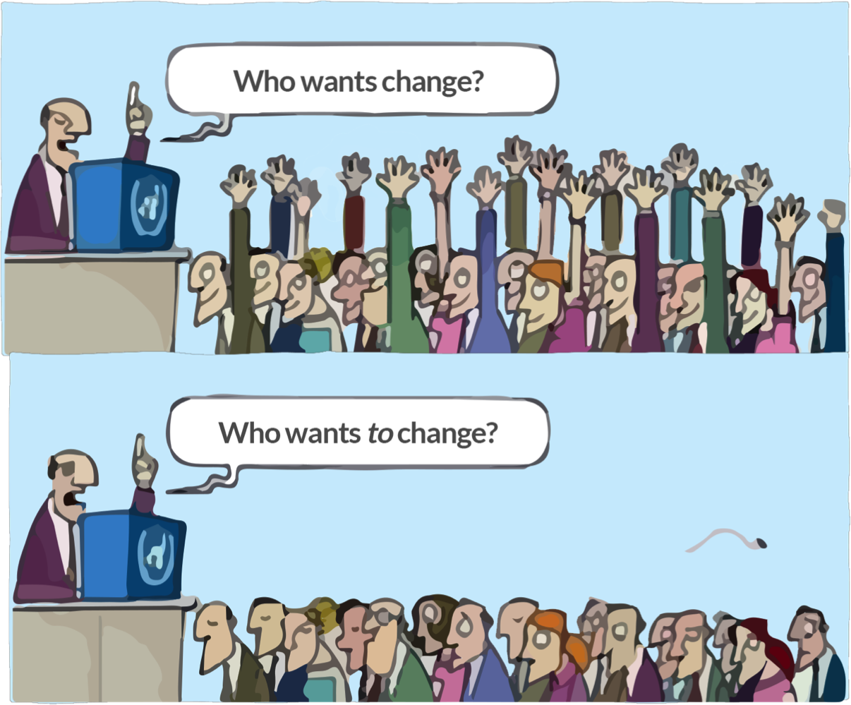 Who wants change?